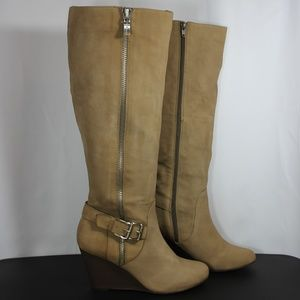 BCBGeneration Watson Suede Knee high boots 8.5